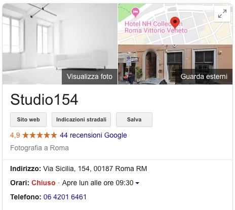 Studio Fotografico 5 stelle roma