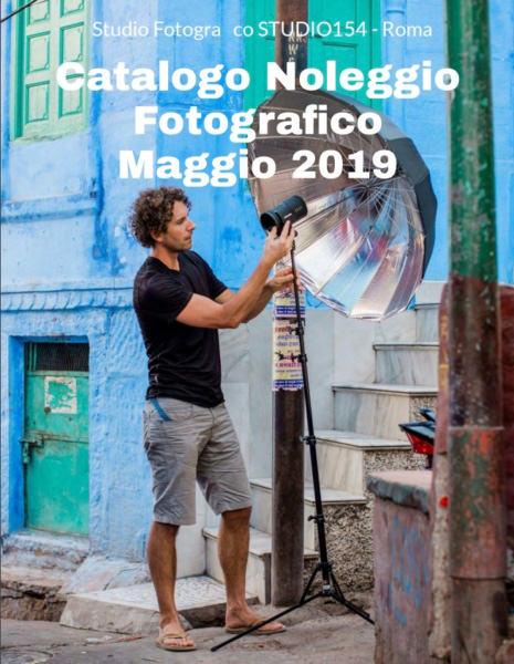 Catalogo Noleggio Fotografico a Roma