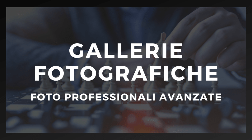 Gallerie fotografiche professionali a Roma
