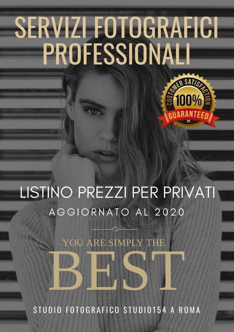 Prezzi Servizi Fotografici professionali Roma