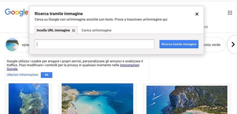 Cerca su Google per immagini