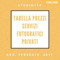 Listino Servizi Fotografici Privati Prezzi Online
