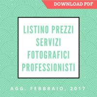 Listino Prezzi Servizi Fotografici professionisti download